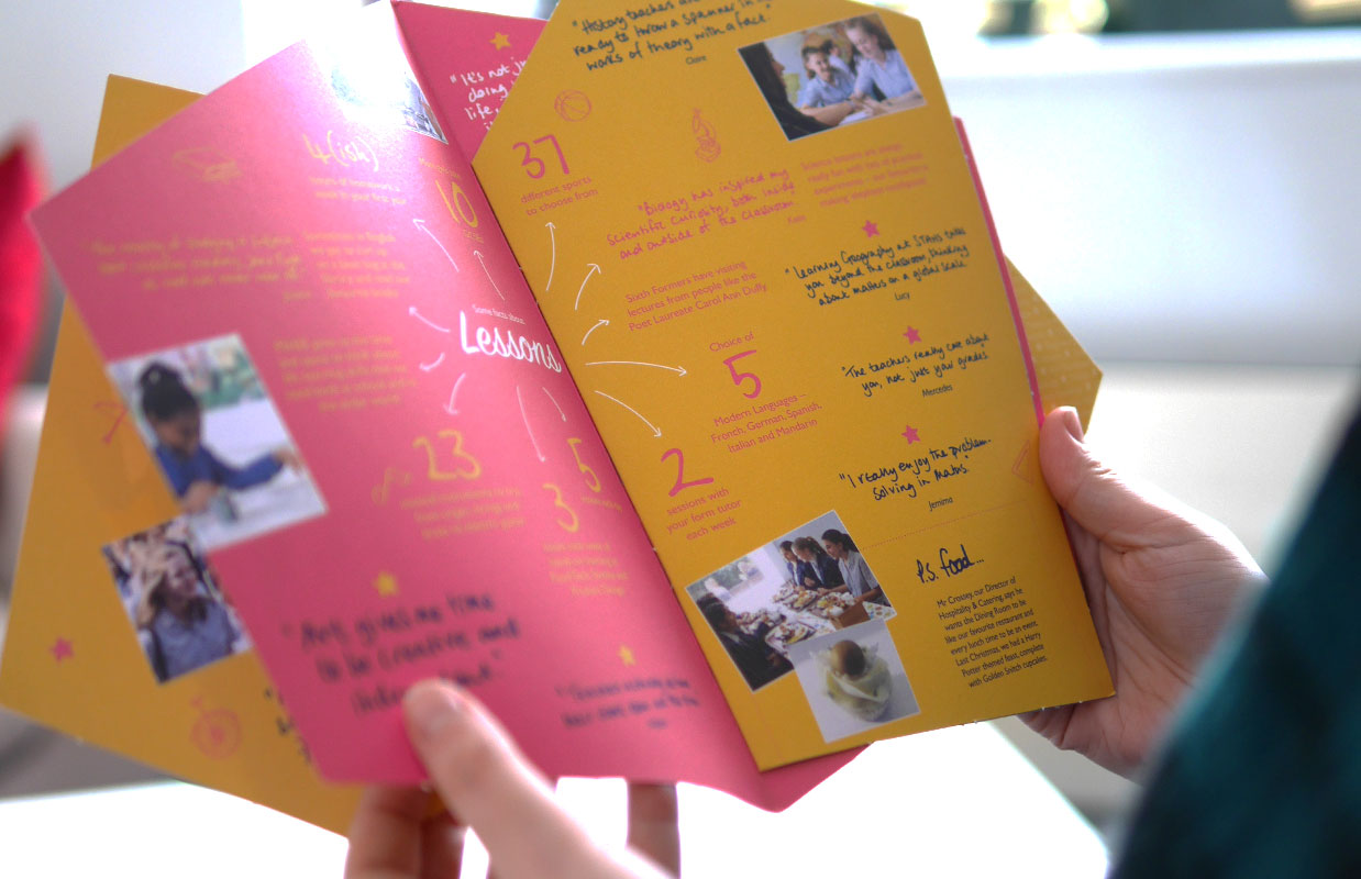 Student focussed brochure for St Albans High School for Girls